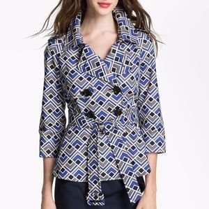 Kate Spade New York Lettie Printed Cotton Trench
